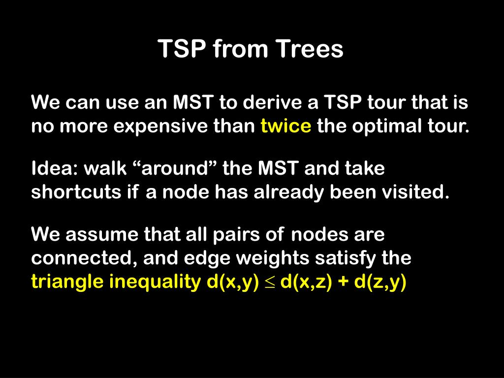 TSP from Trees