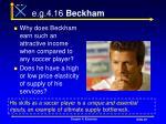 e g 4 16 beckham