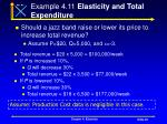 example 4 11 elasticity and total expenditure