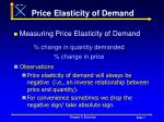 price elasticity of demand7