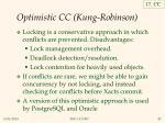 optimistic cc kung robinson