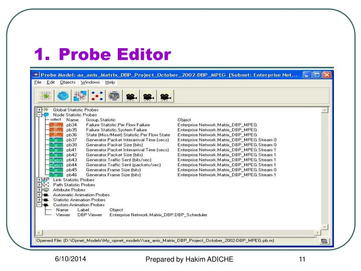 Probe Editor
