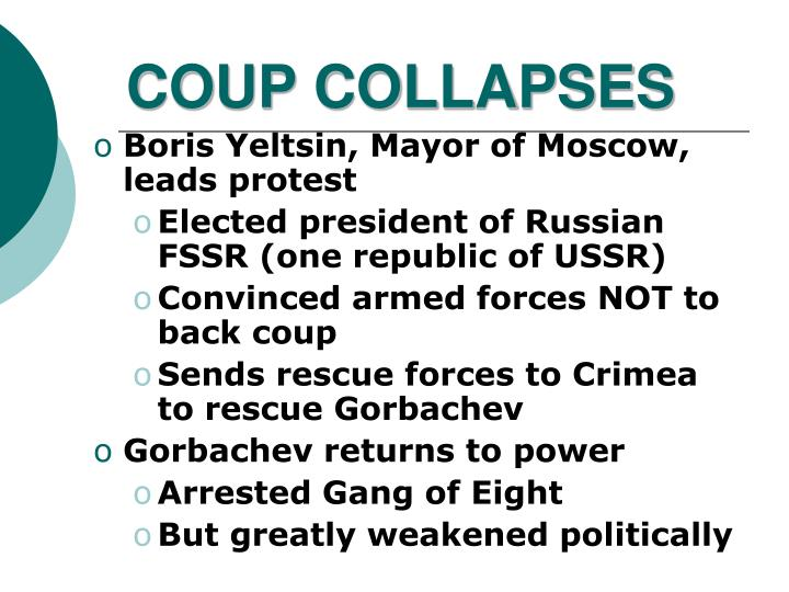 COUP COLLAPSES