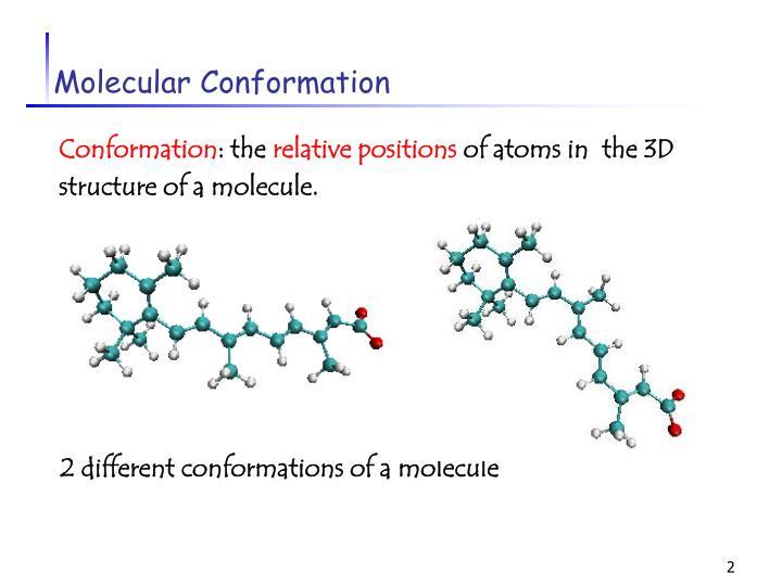 Molecular conformation