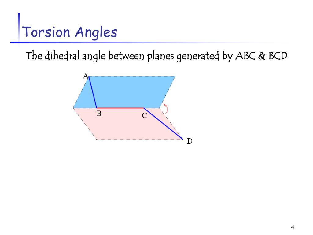 Torsion Angles