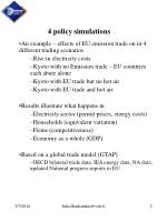 4 policy simulations