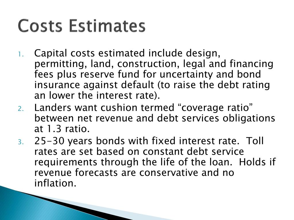 Costs Estimates