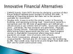 innovative financial alternatives