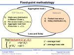 fixed point methodology