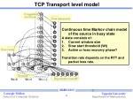tcp transport level model10