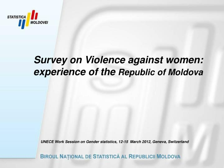 Survey on Violence against women: