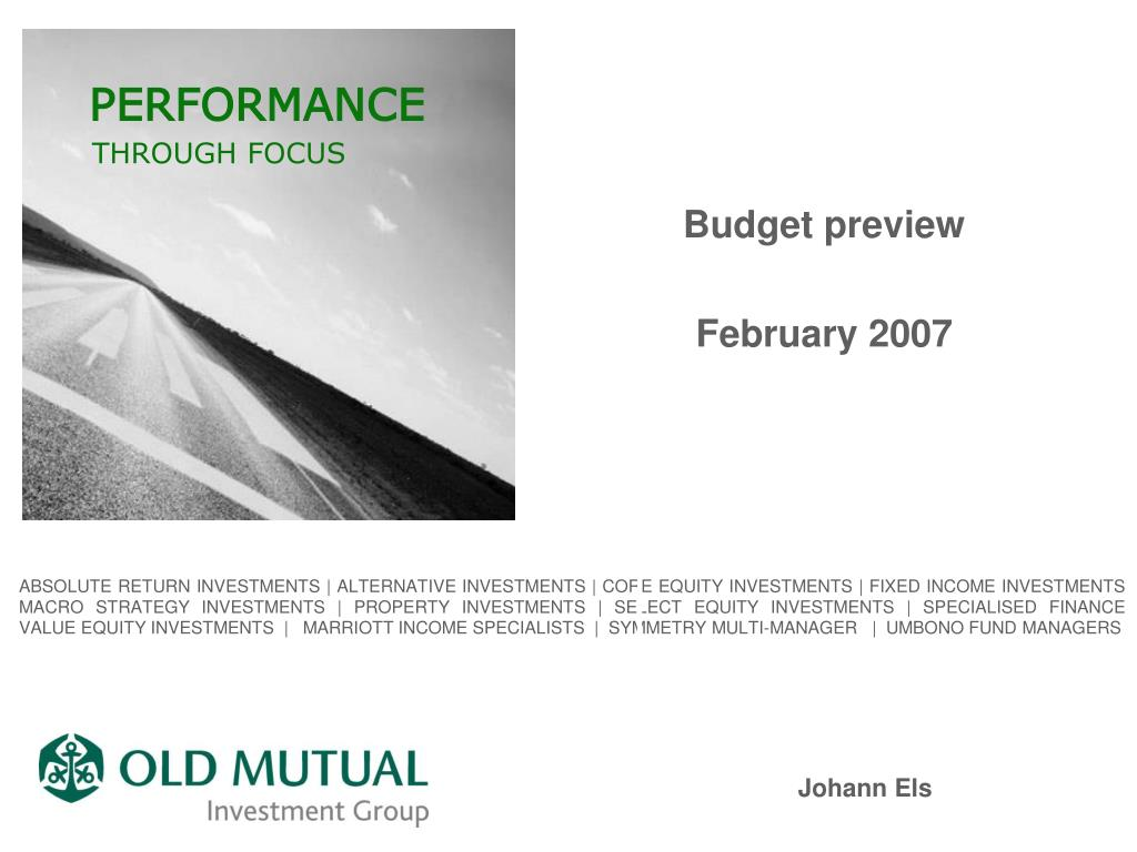 budget preview february 2007 l.