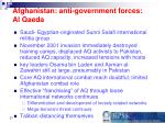 afghanistan anti government forces al qaeda