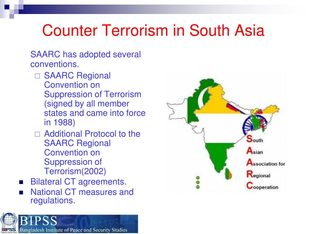Counter Terrorism in South Asia