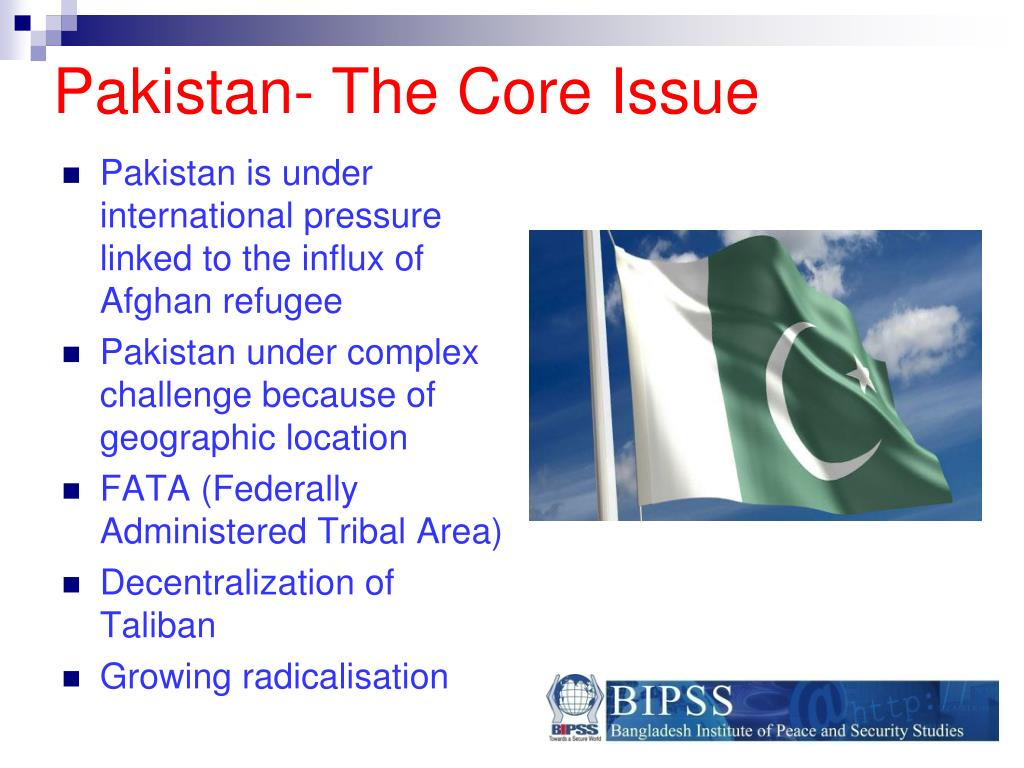 Pakistan- The Core Issue