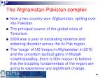 the afghanistan pakistan complex