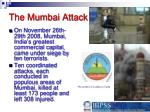 the mumbai attack
