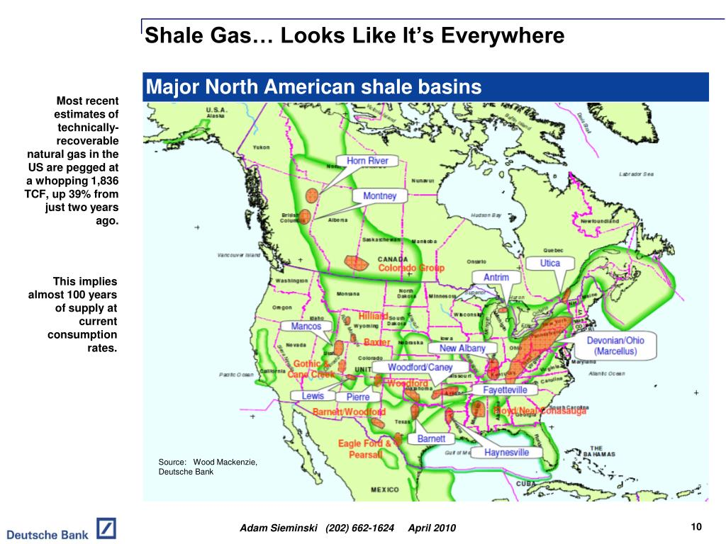 Shale Gas… Looks Like It's Everywhere