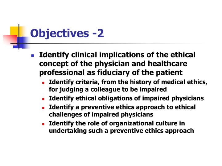 Objectives 2