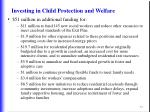 investing in child protection and welfare73