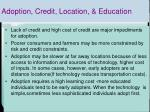 adoption credit location education