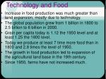 technology and food