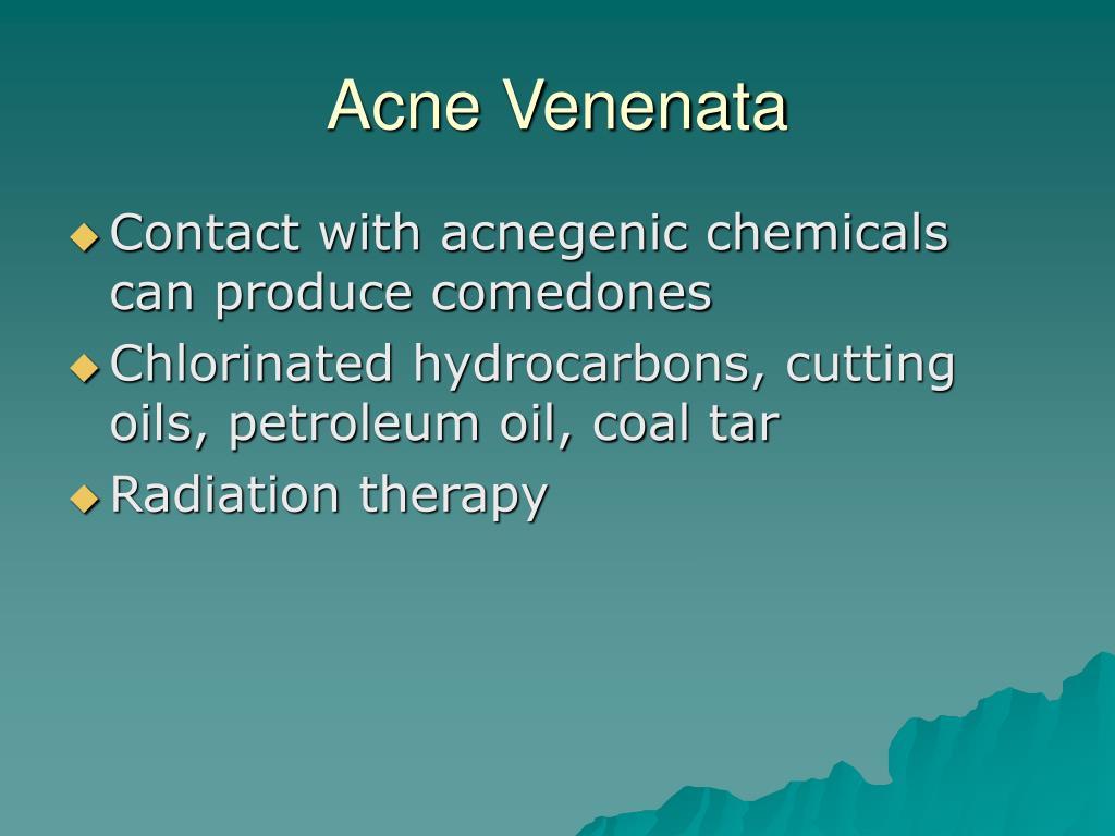Acne Venenata