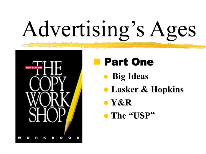 Advertising s ages