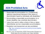 ada prohibited acts