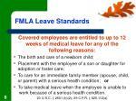 fmla leave standards