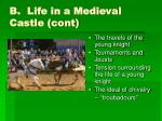 b life in a medieval castle cont30