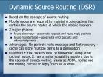 dynamic source routing dsr