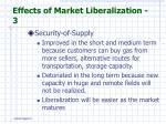 effects of market liberalization 3