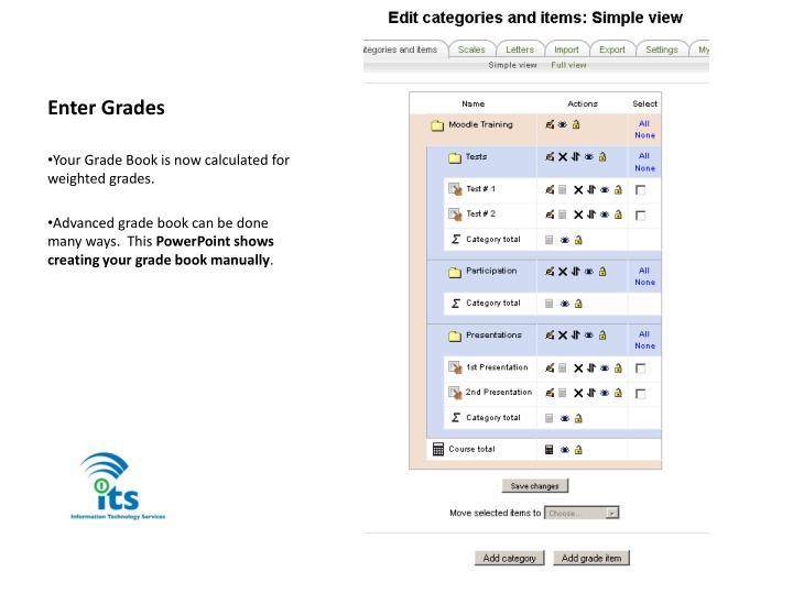 Enter Grades