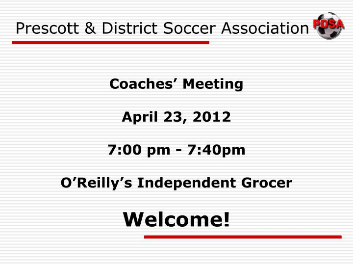 prescott district soccer association n.
