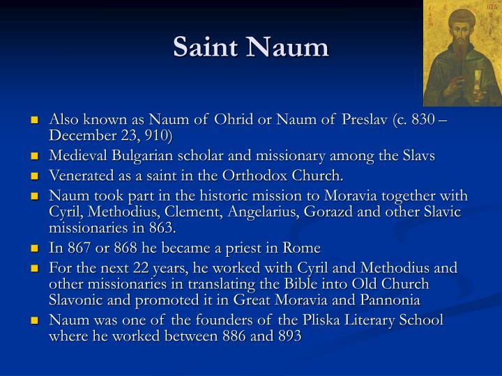 Saint Naum