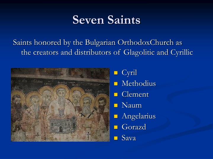 Seven Saints