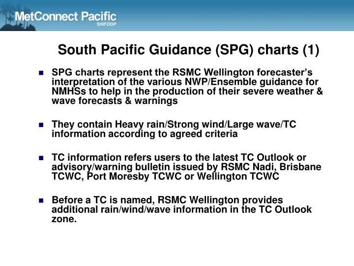 South Pacific Guidance (SPG) charts (1)