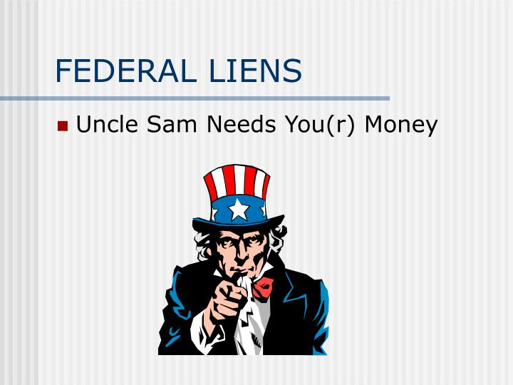 Federal liens