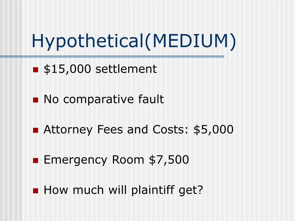 Hypothetical(MEDIUM)