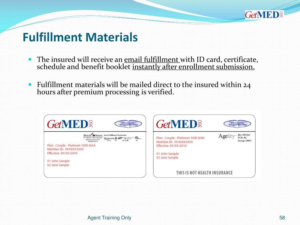 Fulfillment Materials