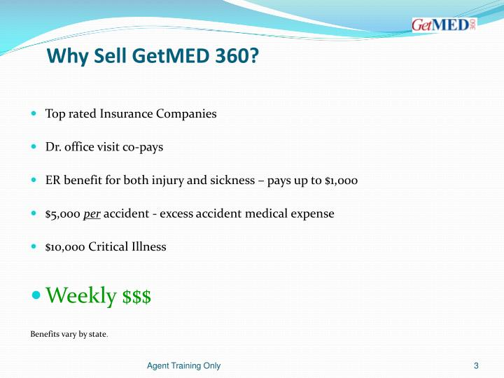 Why sell getmed 360