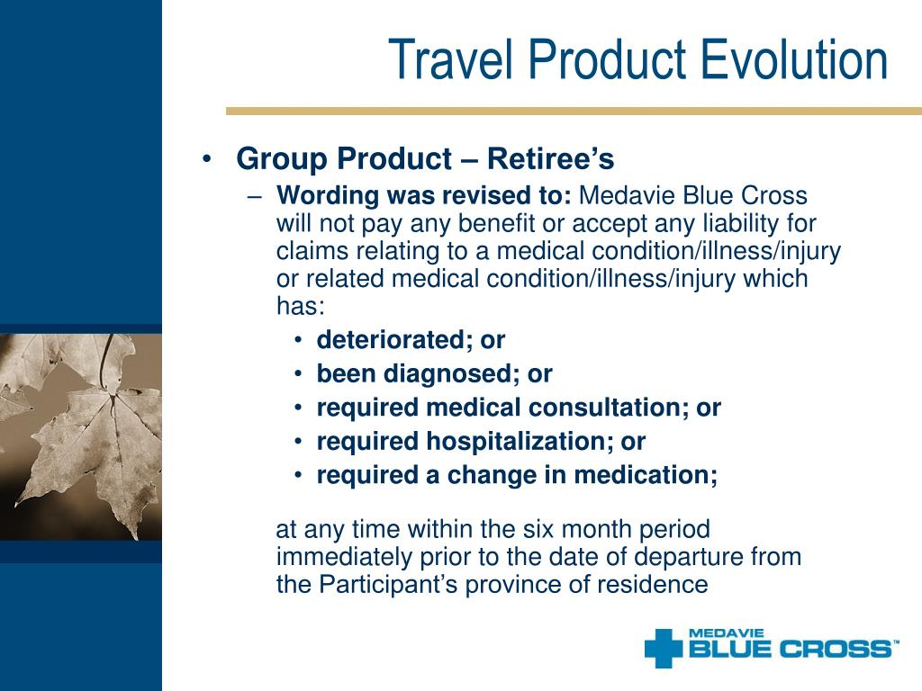 Travel Product Evolution