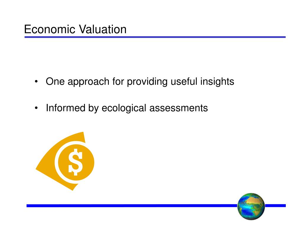Economic Valuation