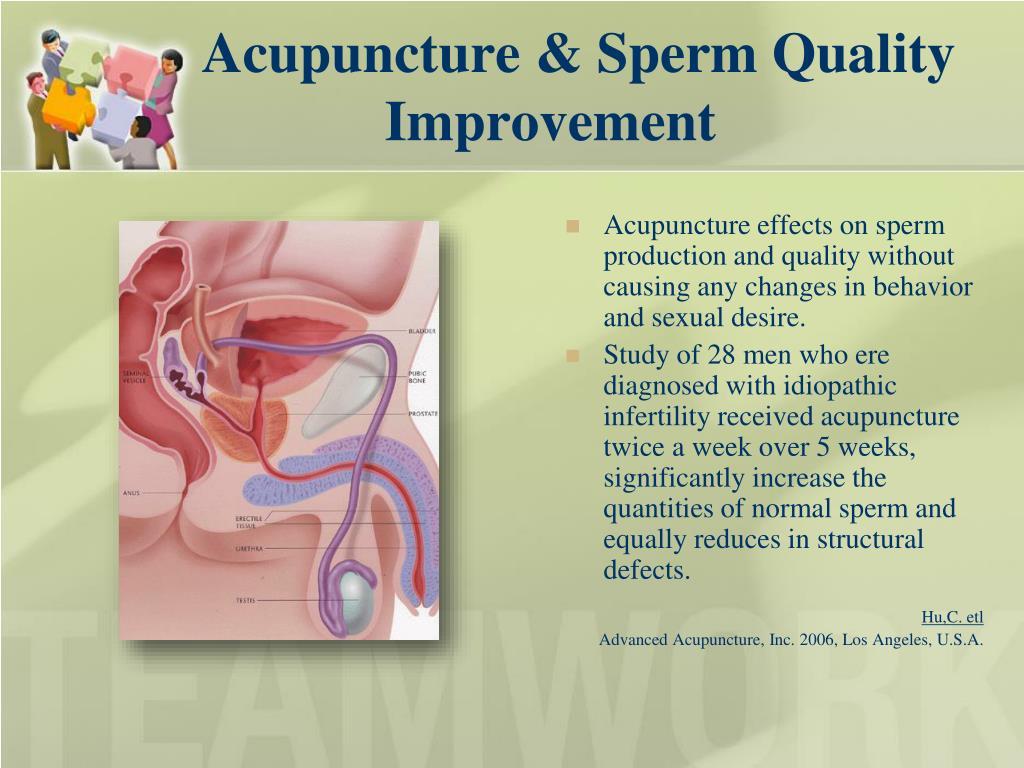 Acupuncture & Sperm Quality Improvement