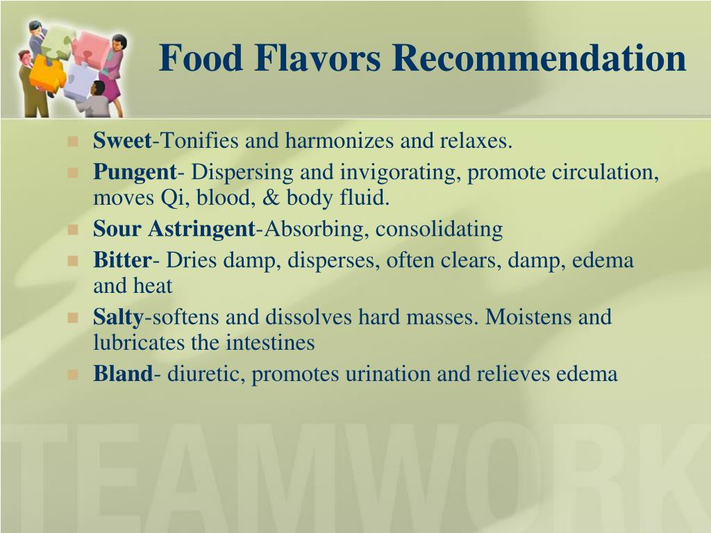 Food Flavors Recommendation
