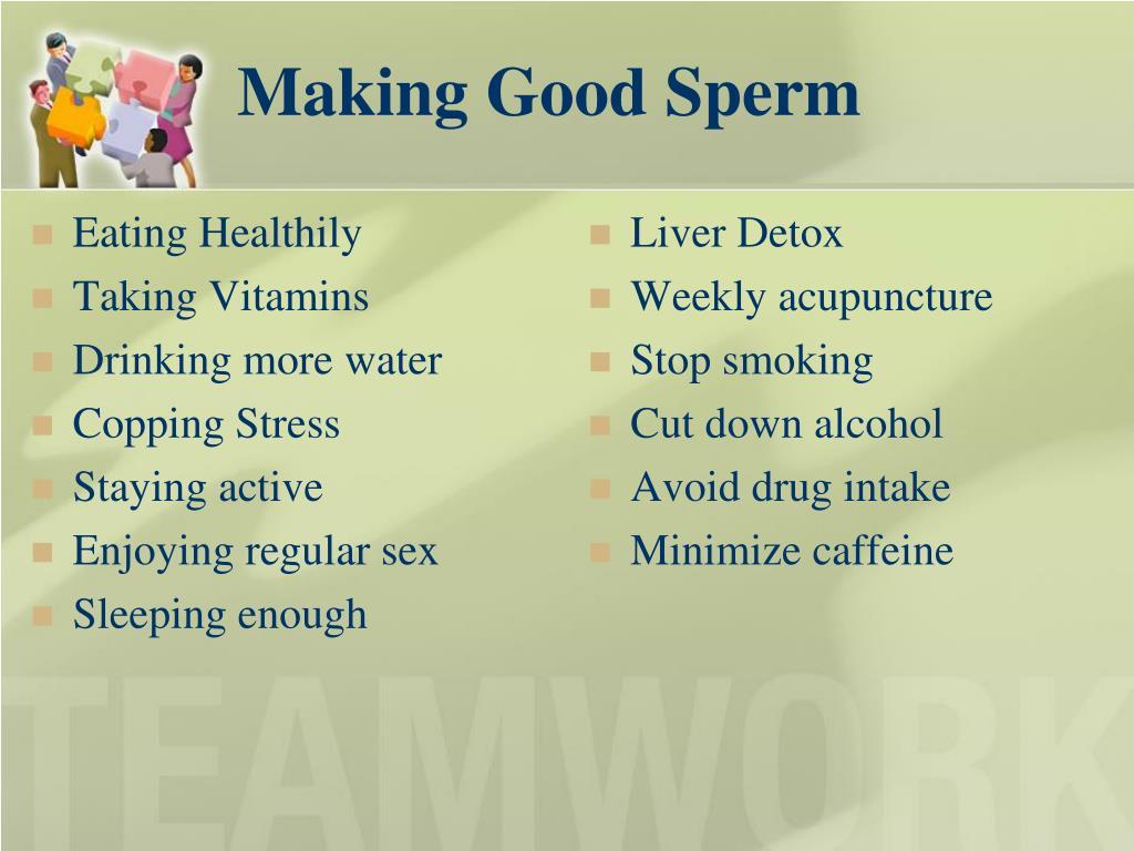 Making Good Sperm