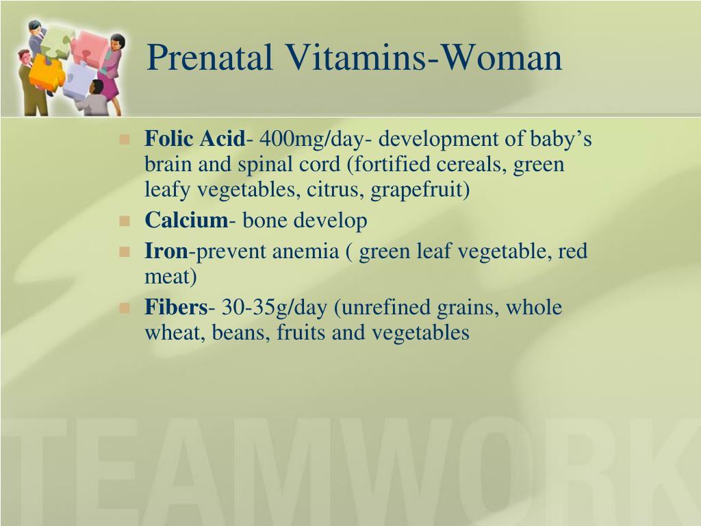 Prenatal Vitamins-Woman