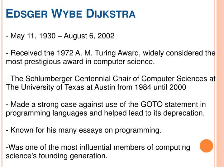 PPT - Dijkstra's algorithm PowerPoint Presentation - ID ...