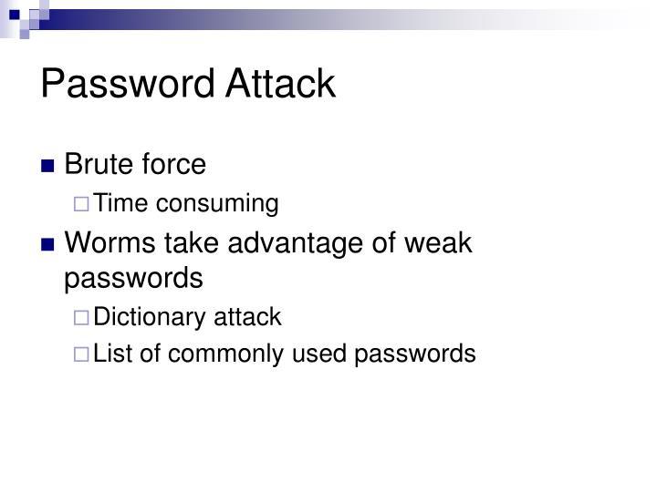 Password Attack